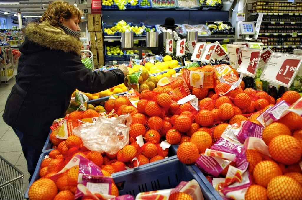 Franse-supermarkt
