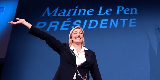 Marine le Pen - Fransemarkt.nl