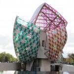 Het gebouw van Louis Vuitton