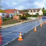 Frankrijk: Eerste autoweg met zonnepanelen