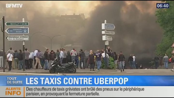 Taxi Paris vs. UverPOP - Fransemarkt.nl